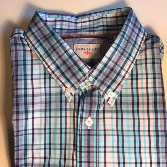 e6f7d7fa Dockers Shirts   Brandnew Short Sleeve Buttondown Shirt   Poshmark
